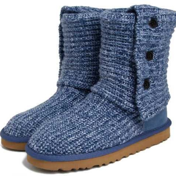 073d5d12ca9 One Day Sale Price- Ugg Cardy Boots in Indigo Blue